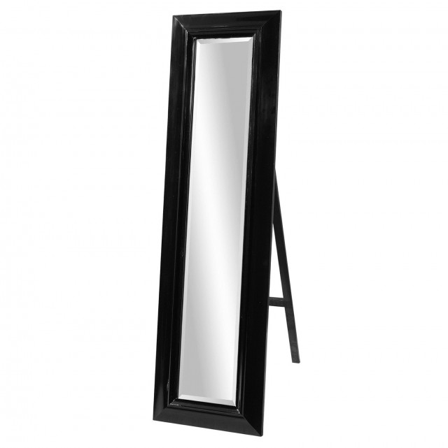 Black Floor Standing Mirror