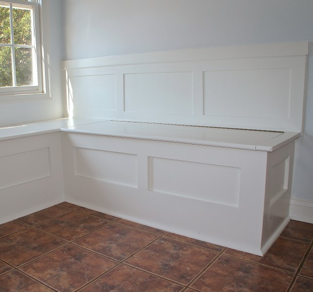 Built In Bench Seating With Storage Plans