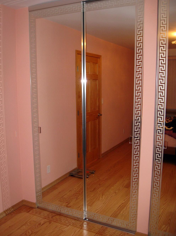 Closet Mirror Doors Repair