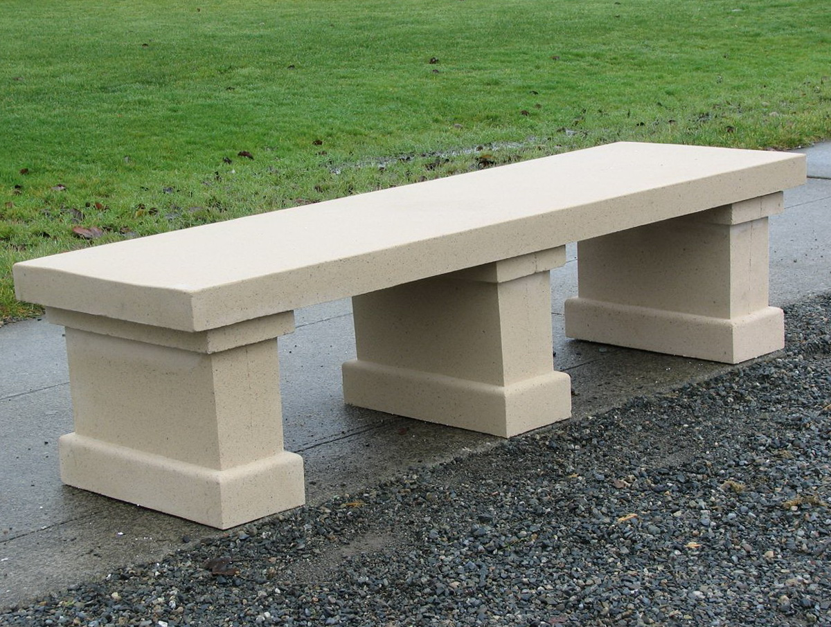 Concrete Garden Bench Molds