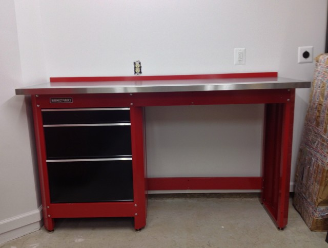 Craftsman Workbench Red
