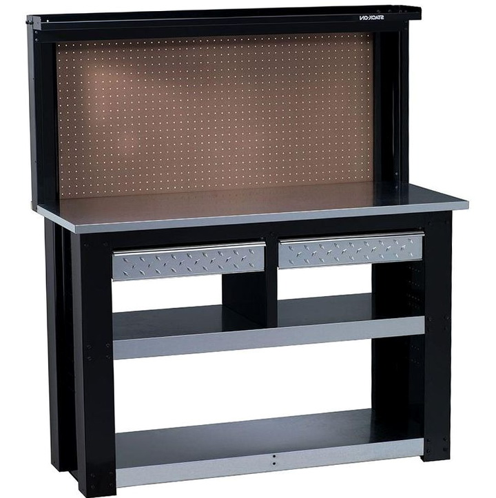 Craftsman Workbench With Backwall