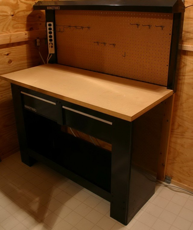 Craftsman Workbench With Drawers