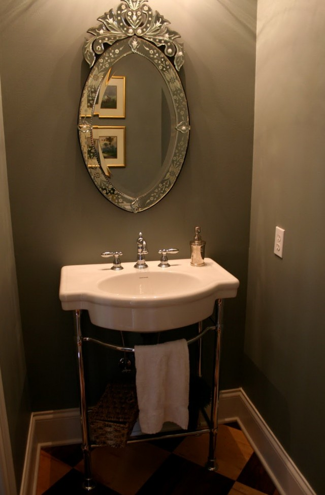 Decorative Powder Room Mirrors