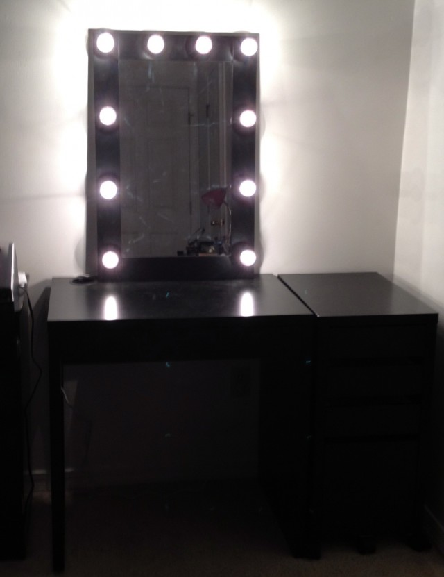 Diy Light Up Vanity Mirror