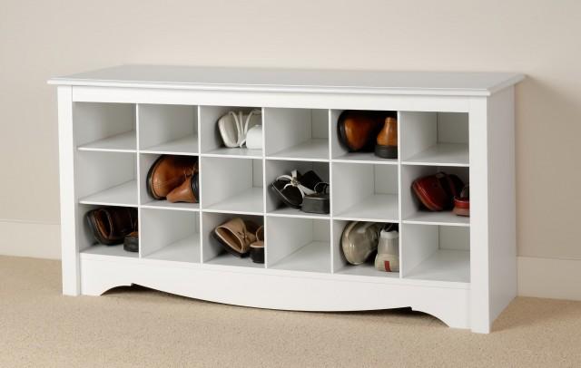 Diy Shoe Bench Storage