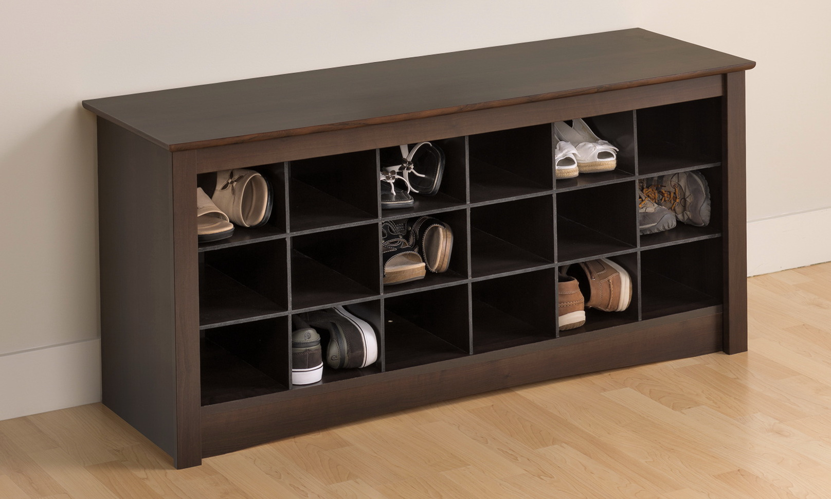 Entryway Bench Shoe Storage