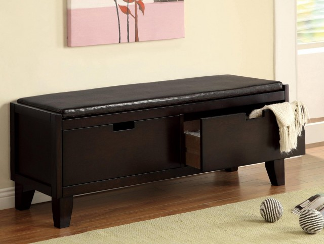 Entryway Bench With Drawers