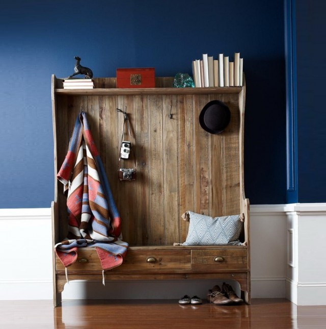 Entryway Coat Rack With Bench