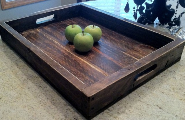 Extra Large Ottoman Serving Tray