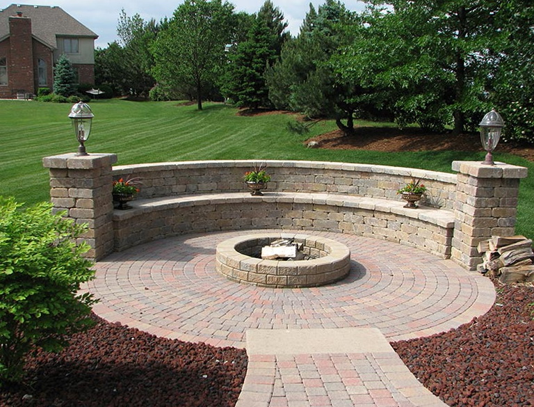 Fire Pit Benches Plans