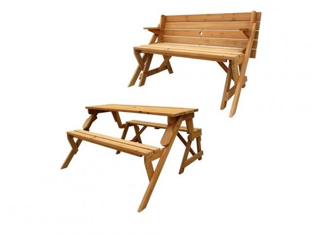 Folding Picnic Table Bench Video