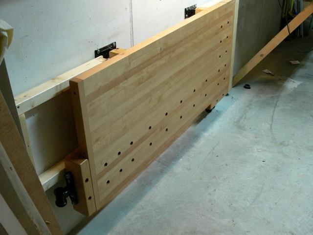 Folding Workbench Wall Mounted