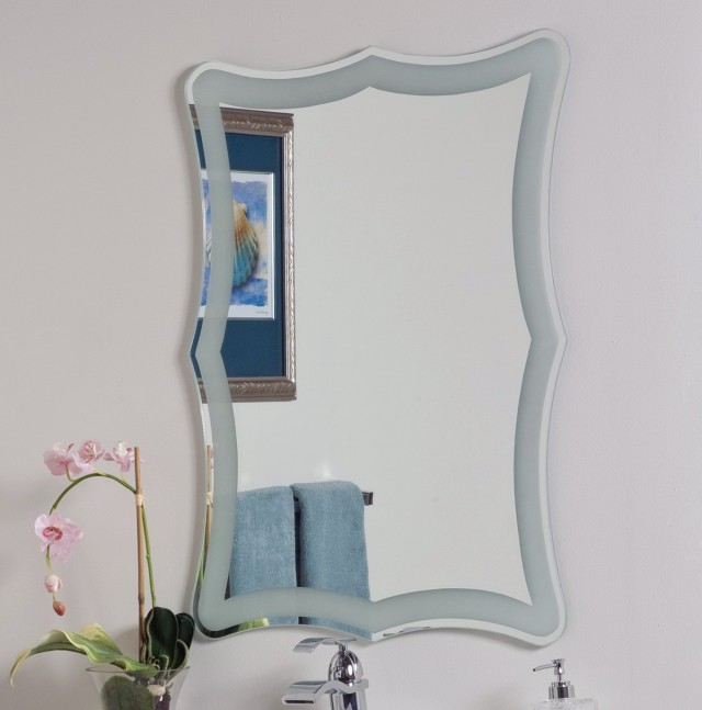 Frameless Bathroom Mirrors Lowes
