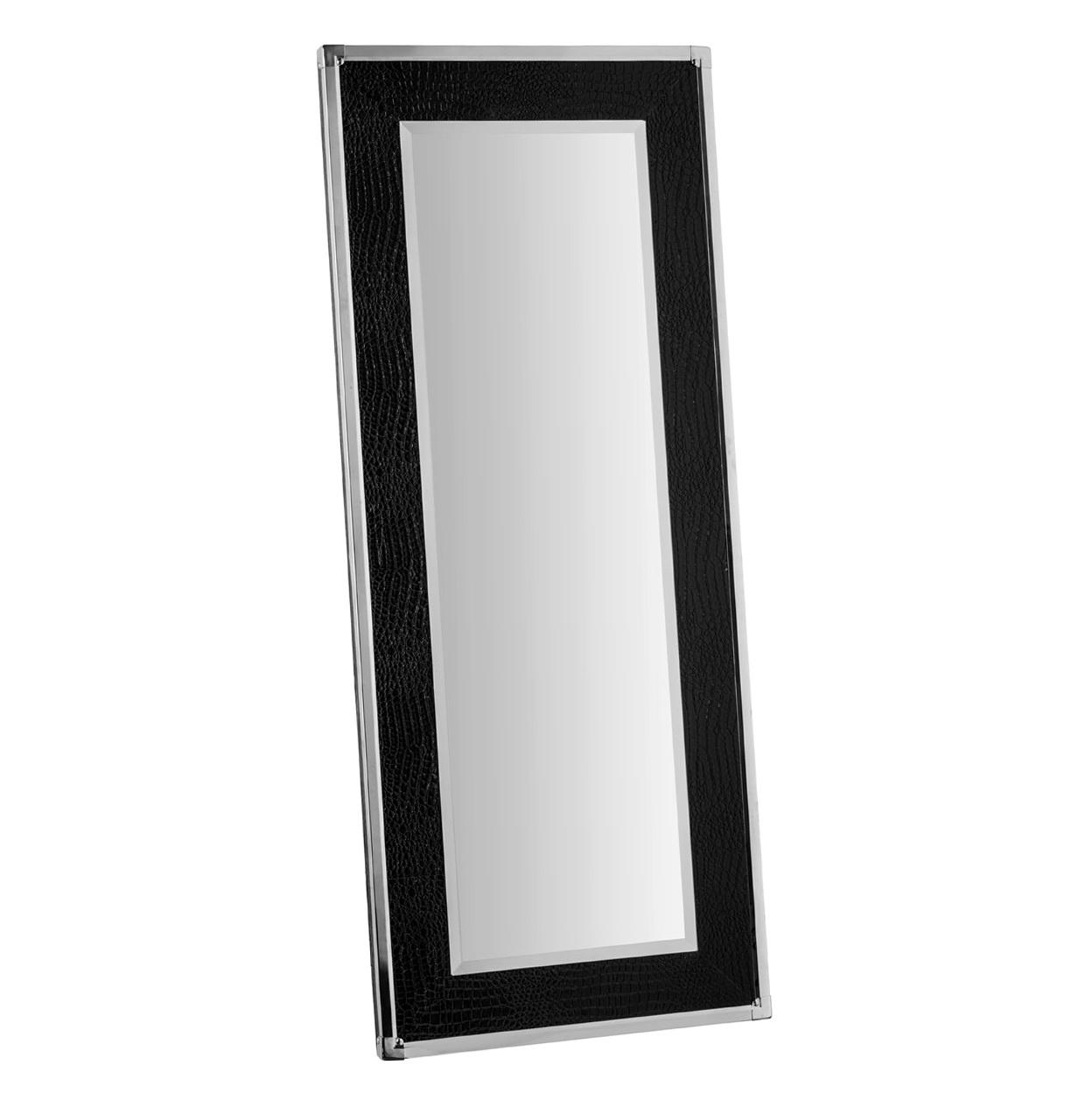 Full Length Black Framed Mirror