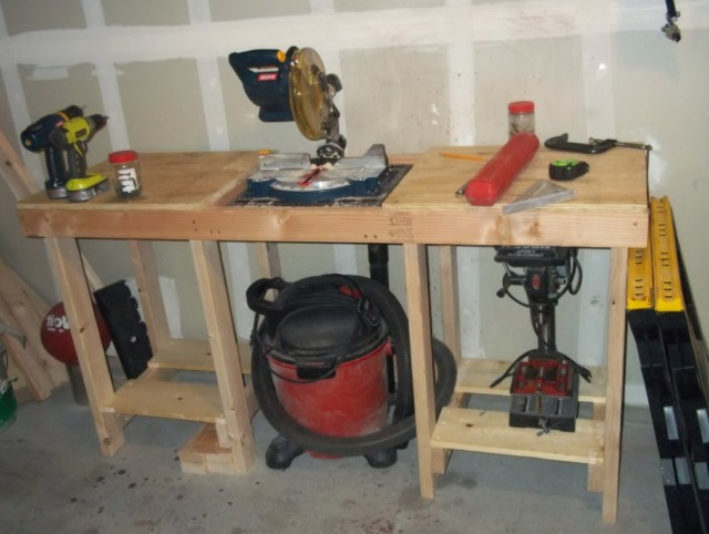 Garage Work Bench Ideas
