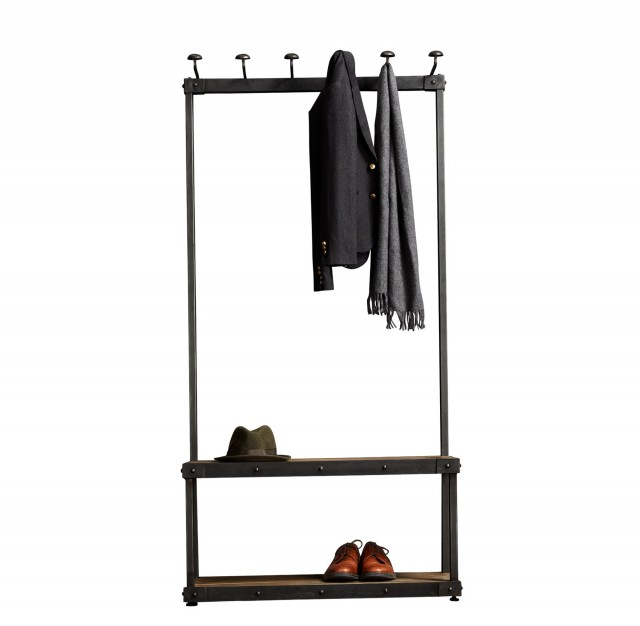 Hallway Bench With Coat Rack
