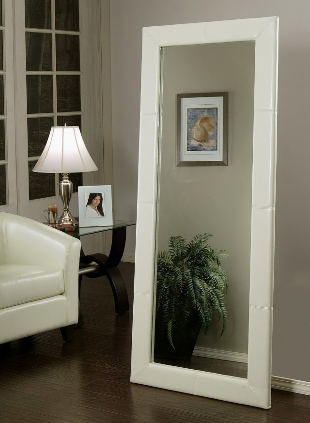 Ikea White Floor Mirror