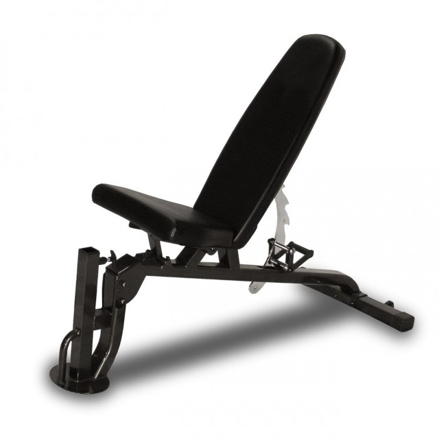 Incline Decline Bench With Leg Curl