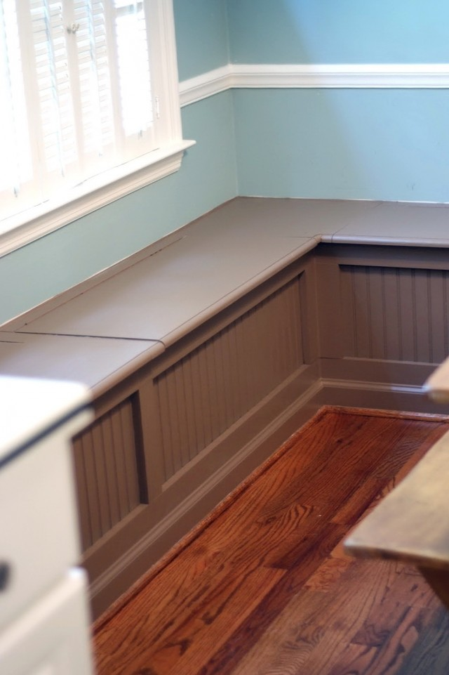 Kitchen Nook Bench Plans