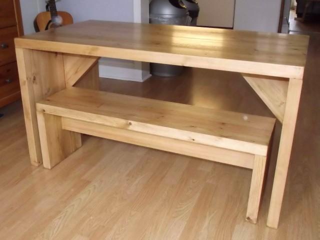 Kitchen Table Bench Designs