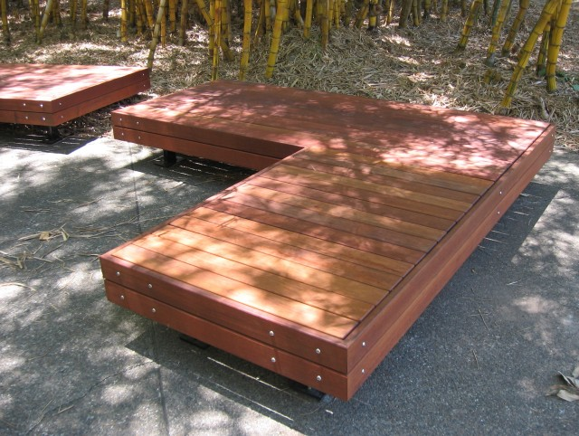 L Shaped Bench Seating
