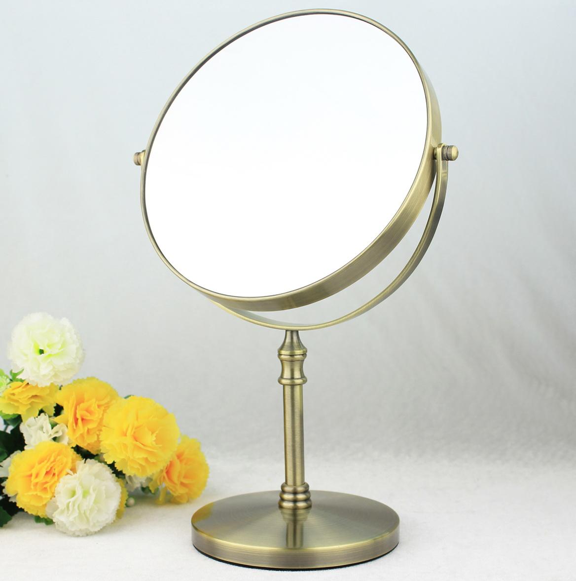 Lighted Makeup Mirror Bronze