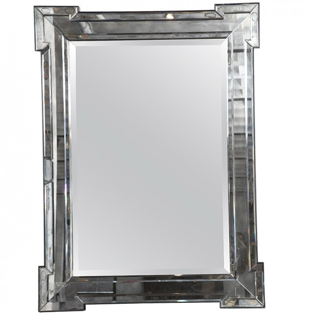 Mercury Glass Mirror Frame