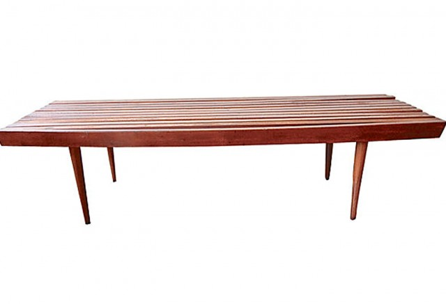 Mid Century Bench For Sale