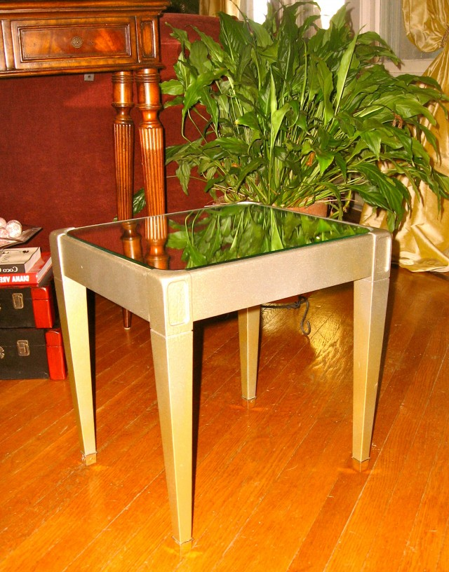 Mirror End Table Diy