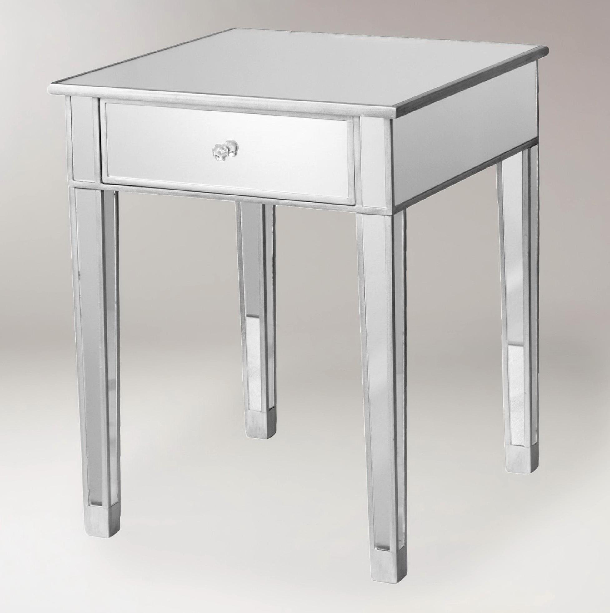 Mirror End Tables Sale