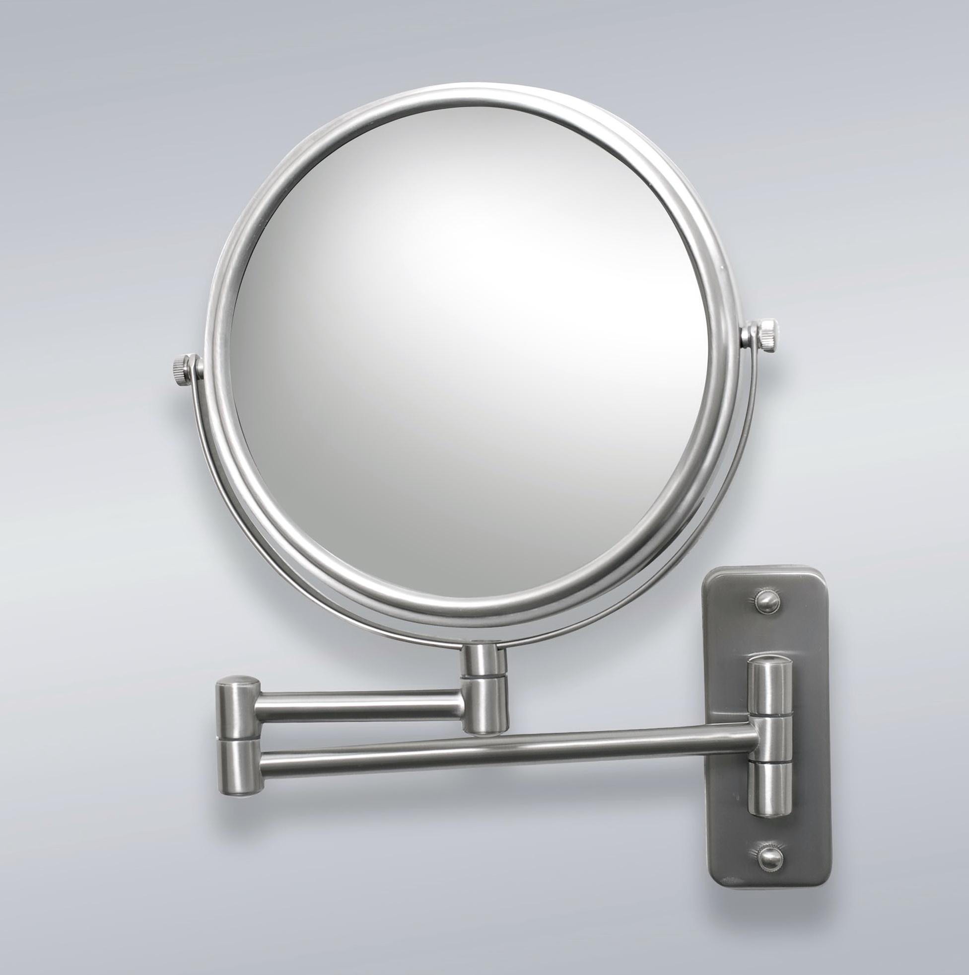Mirror Mounting Hardware Brushed Nickel