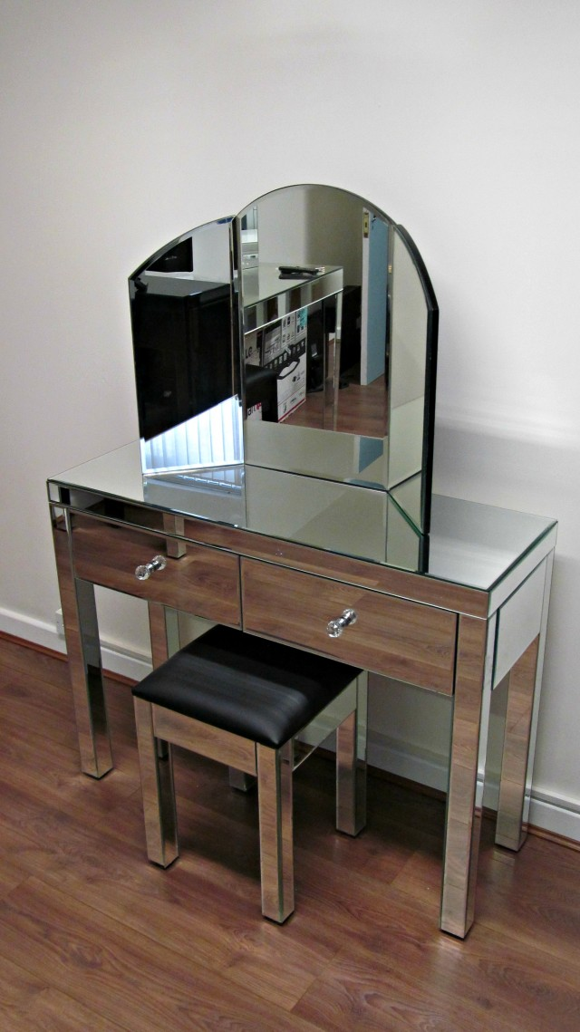 Mirrored Dressing Table Set Uk