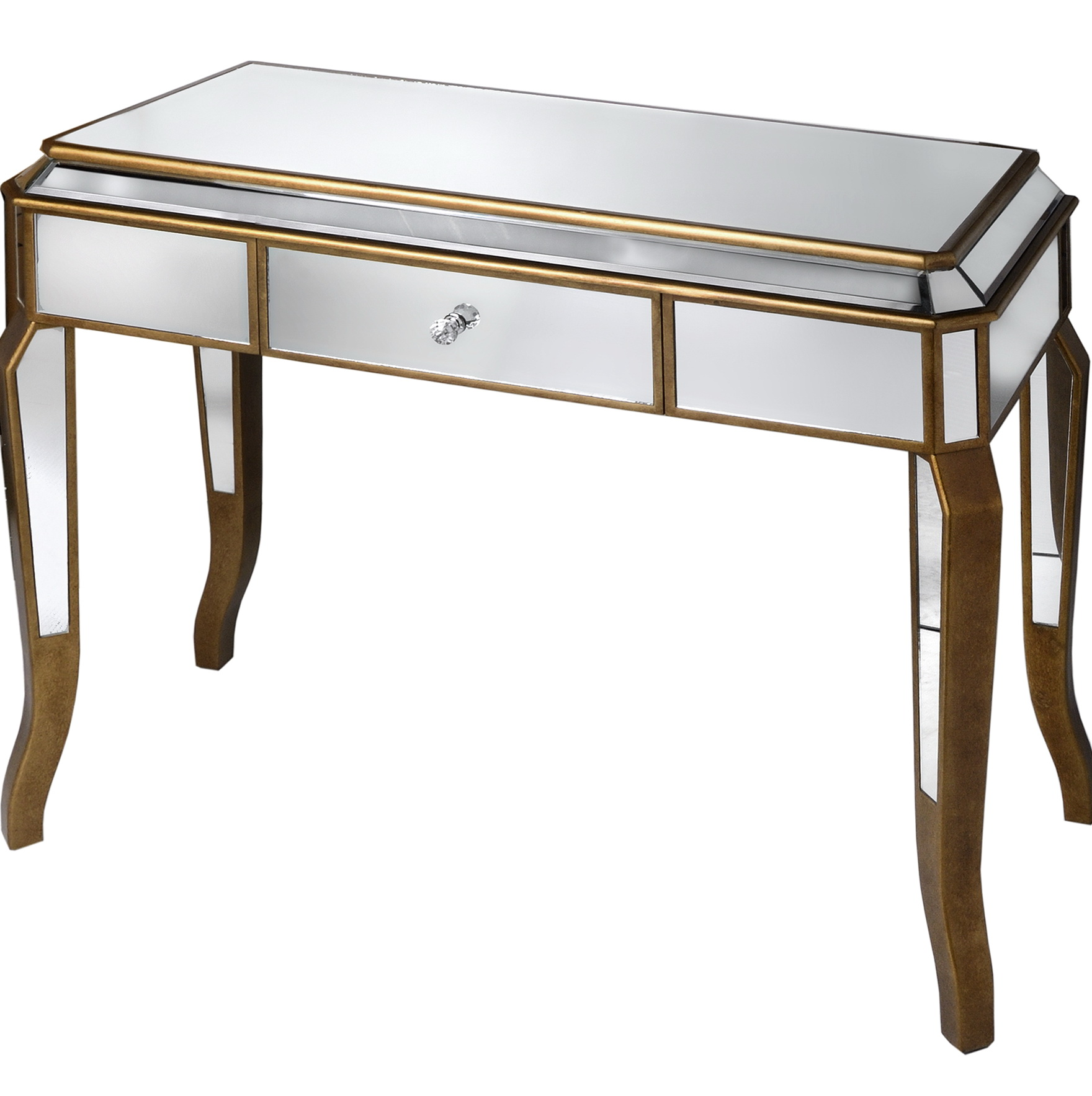 Mirrored Dressing Table With Drawers