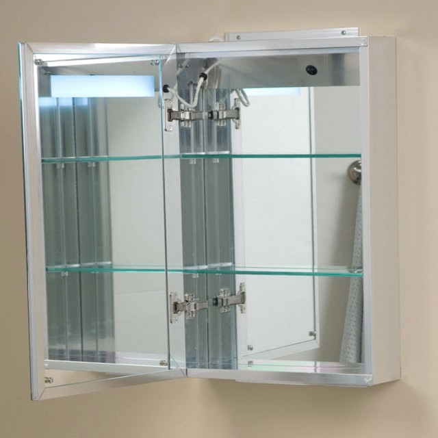 Mirrored Medicine Cabinets With Lights