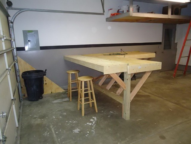 My First Craftsman Workbench