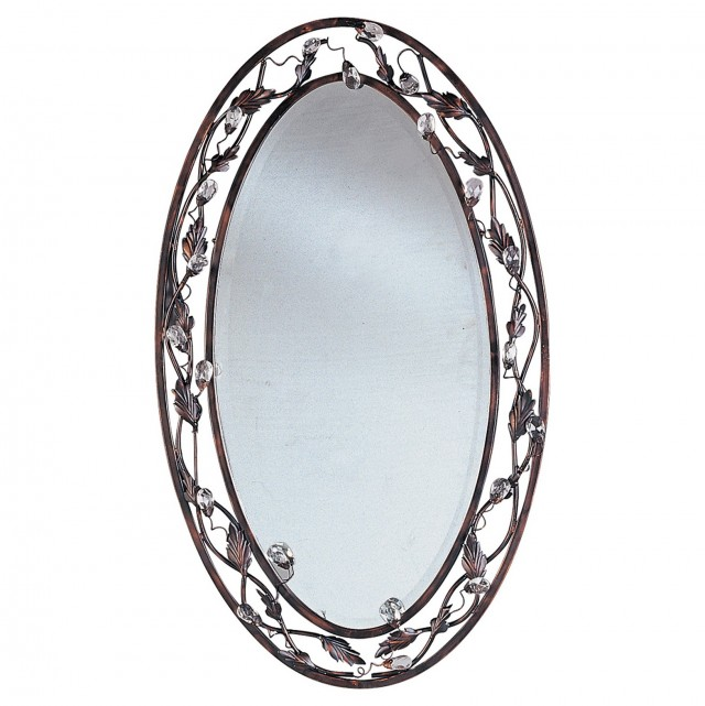 Oil Rubbed Bronze Mirror J Channel
