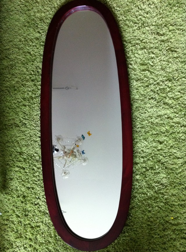 Oval Wall Mirror Full Length