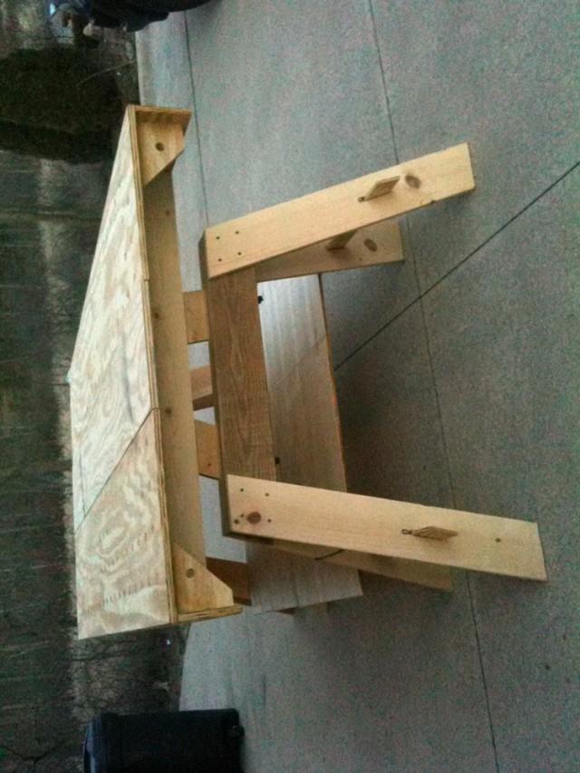 Portable Workbench Diy