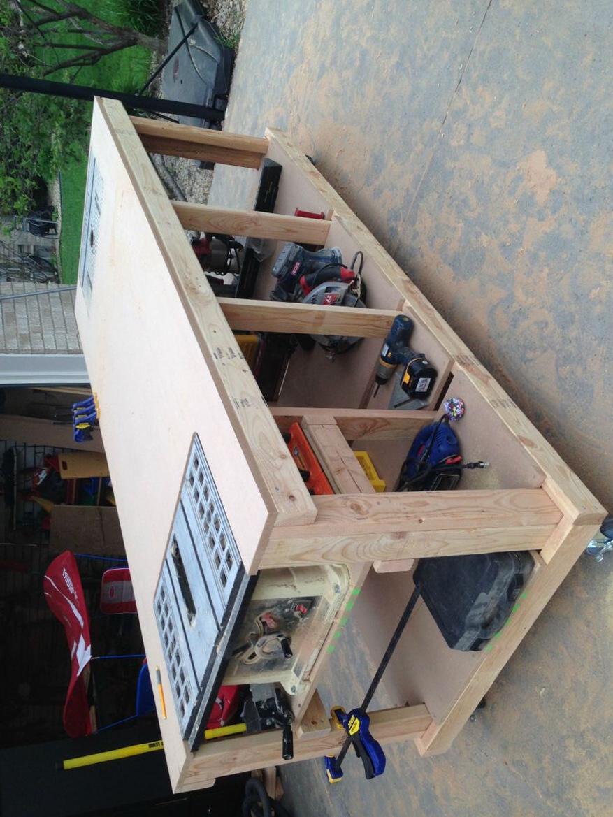 Portable Workbench Home Depot
