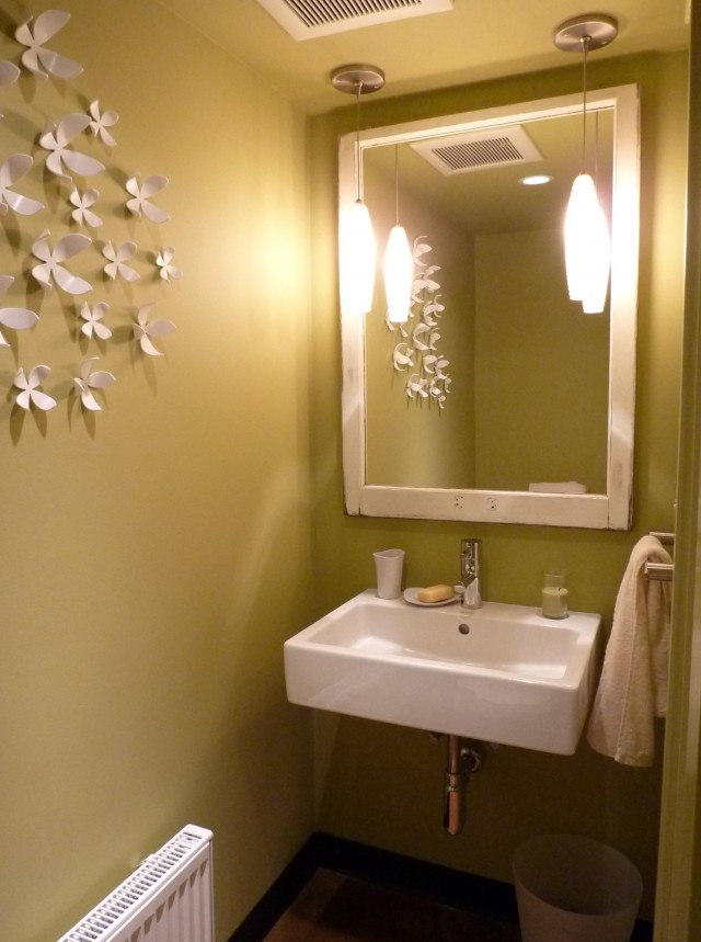 Powder Room Mirrors And Lights