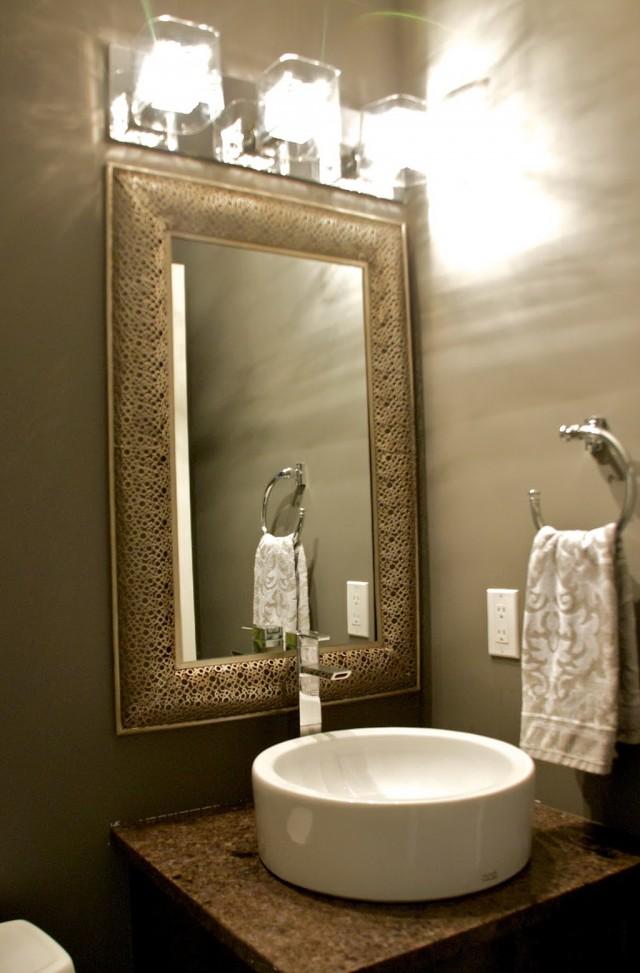 Powder Room Mirrors Ideas