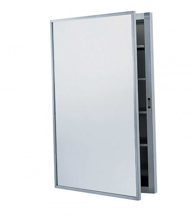 Recessed Mirrored Medicine Cabinets For Bathrooms