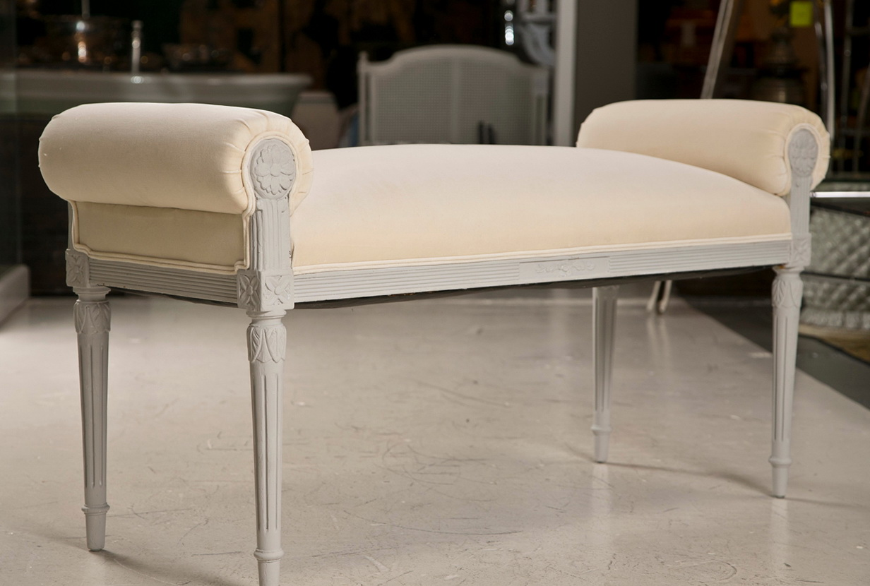 Rolled Arm Bench Furniture