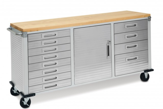 Rolling Workbench With Drawers