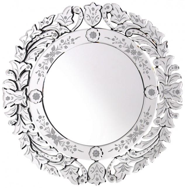 Round Venetian Glass Mirrors