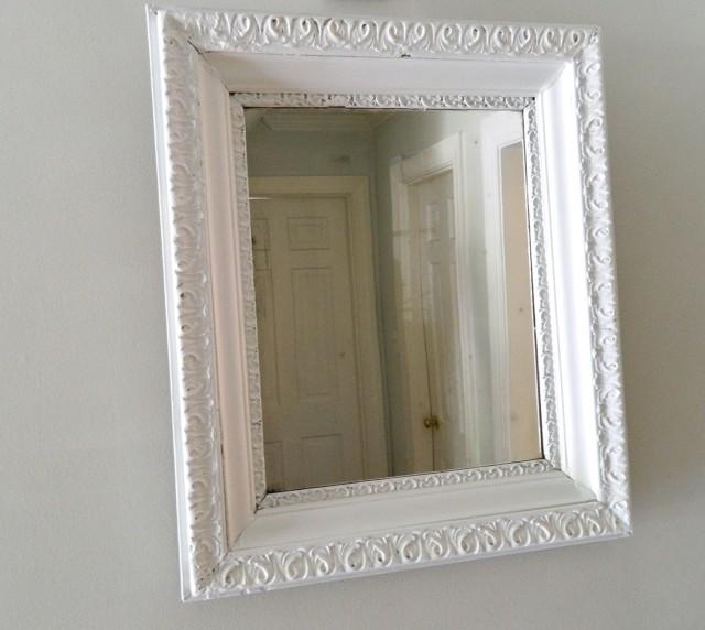 Shabby Chic Mirrors White