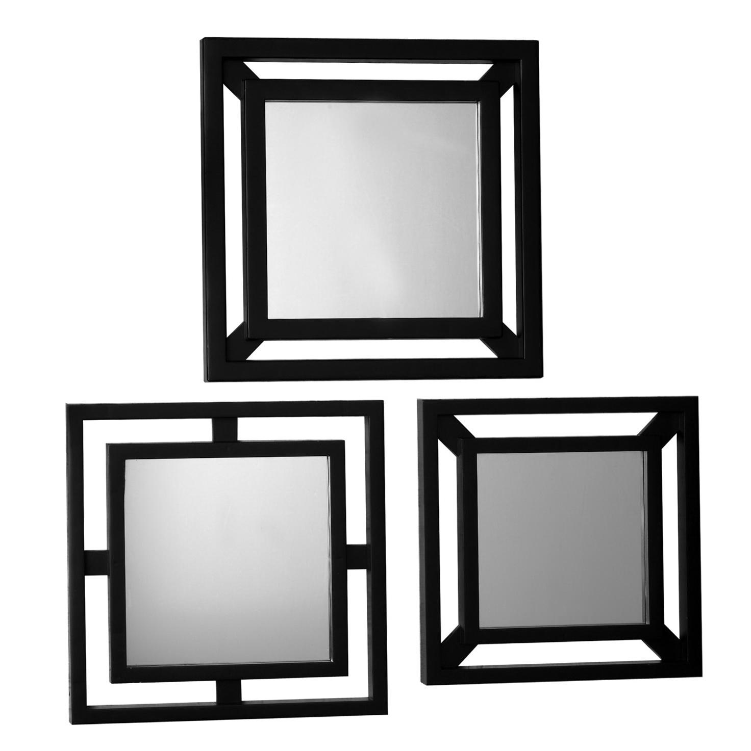 Small Decorative Mirrors Set