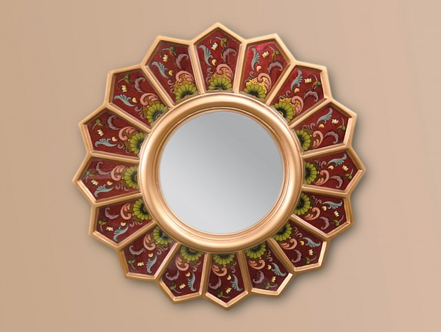 Small Round Mirrors Wall Art
