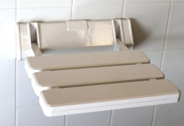 Small White Bench Seat